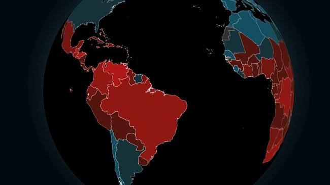 Plan your summer vacation with this interactive world map of murder.