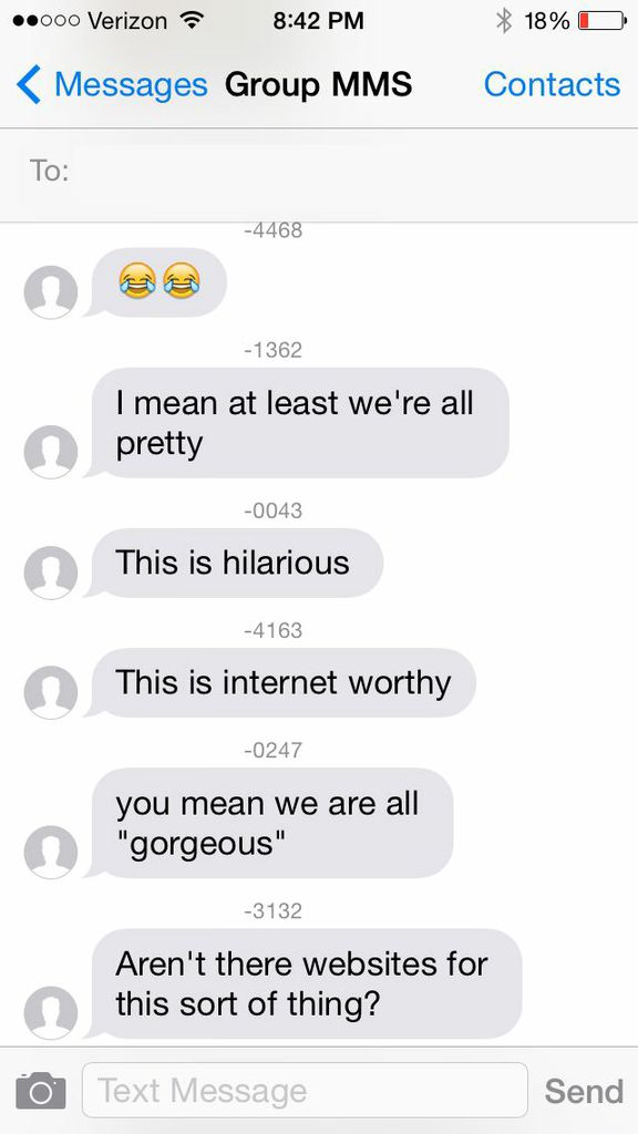 11 group text messages that will make your texts seem less dysfunctional.