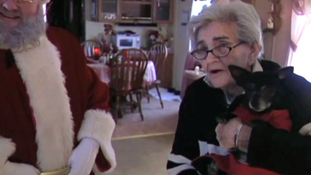 An 84-year-old woman wrote Santa a letter asking for a dog. Amazingly, he gave her one.