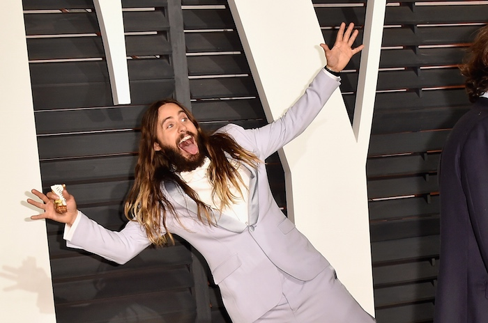 Jared Leto's hair is gone and we don't know what to do.