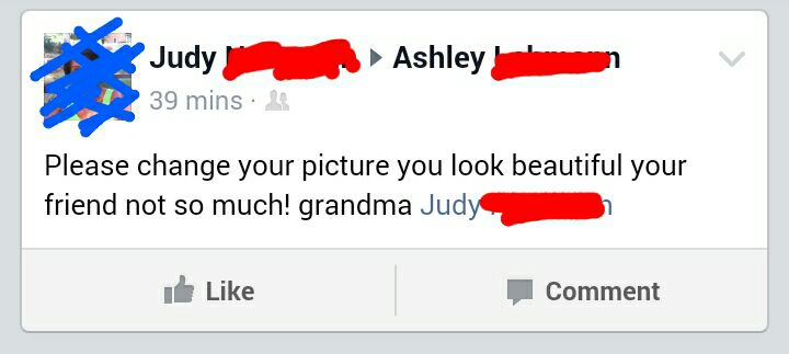 The best examples of old people on Facebook being old people on Facebook.