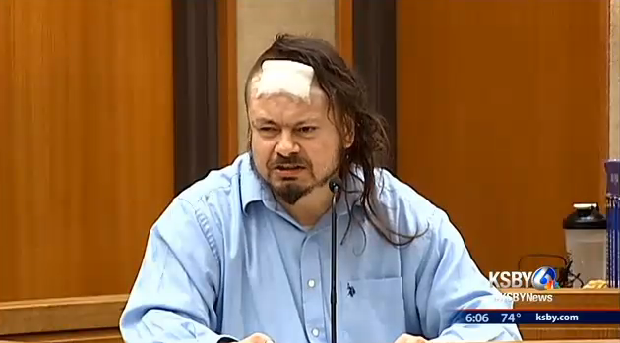Man takes a crap while on witness stand, you'll never guess what happens next!