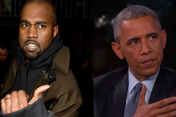 Kanye, if you're going to lie about knowing someone, don't lie about knowing the President.