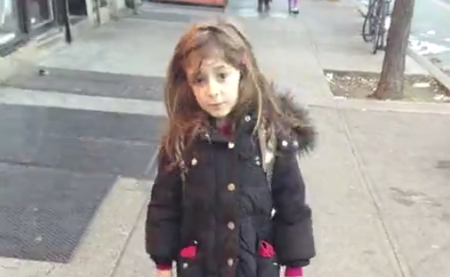 A dad photographed his daughter walking to school every day for two and a half years to create this video.
