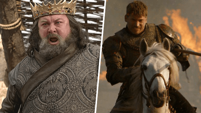 Robert Baratheon Predicted Last Night's Epic GoT In Season 1 And Everyone Is Shook