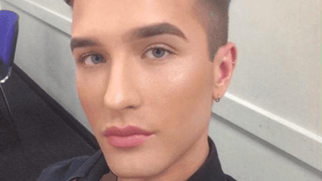 A man was told to take off his makeup at work. He's now fighting to be his 'fabulous self.'