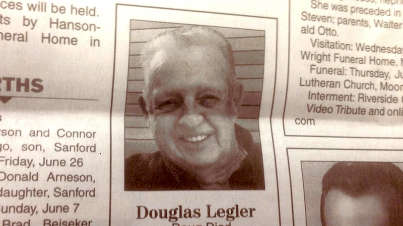 Man writes himself the shortest and funniest obituary of all time.