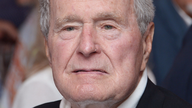 Twitter Explodes After Allegation That Bush Sr Groped Women While