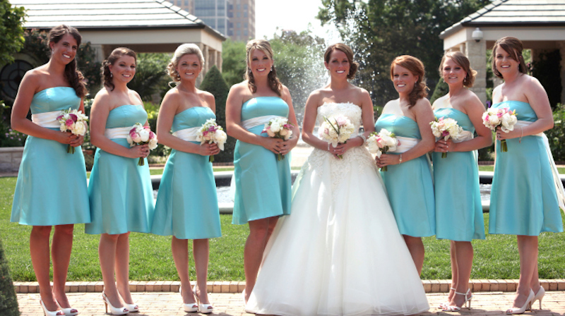 A timeline of the worst bridesmaid experience in history.