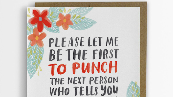 A woman made up empathy cards she wished shed received from people artist designs empathy cards with the messages she wished she had gotten when she had cancer m4hsunfo
