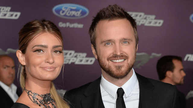 Aaron Paul surprised his wife with an incredible birthday gift and she lost her mind.