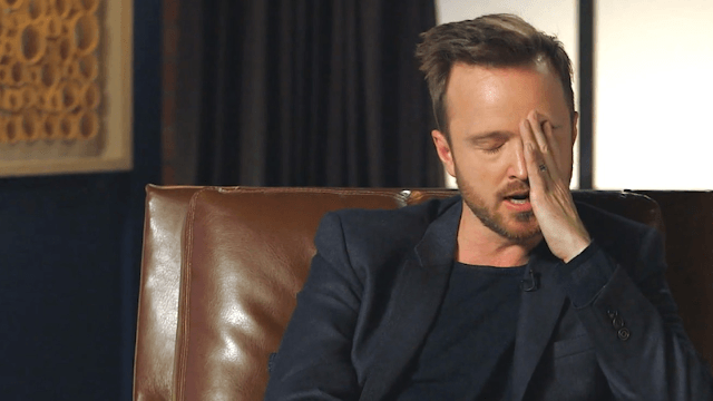 Aaron Paul tells the cringeworthy story of how he totally bombed an audition for J.J. Abrams.