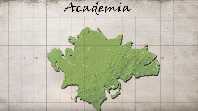 Tour of the world of 'Academia' is hilarious to anyone who's spent too much time in school.