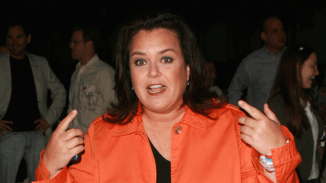 Accidental felon Rosie O'Donnell proves she DGAF by brutally roasting her Twitter trolls.