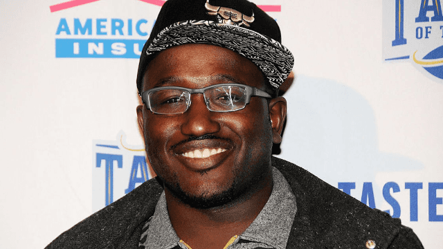 Actor Hannibal Buress couldn't make it to his movie premiere so he sent a lookalike instead.