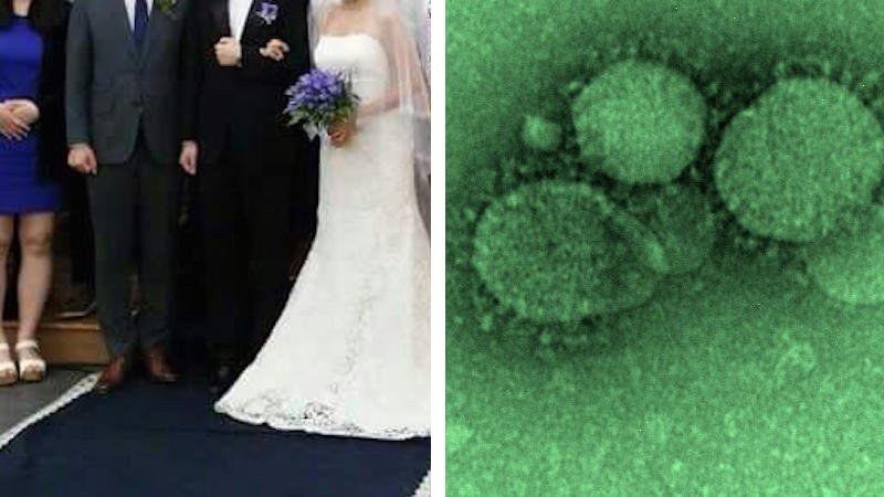 This Korean wedding photo went viral for a very deadly reason.