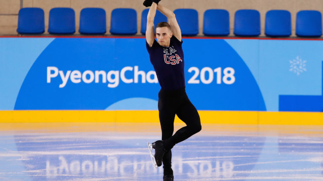 Olympic figure skater Adam Rippon has a hilarious message for his haters.