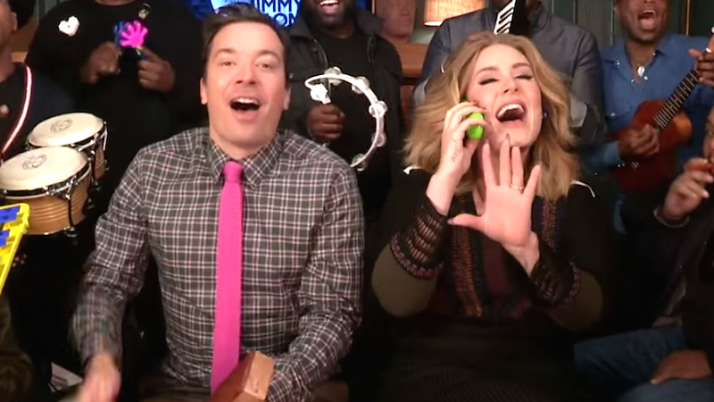 Adele singing 'Hello' with kazoo and xylophone accompaniment will still make you cry.