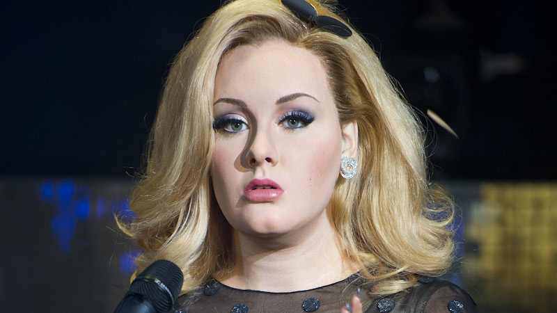 Adele fans think her new bodyguard is hotter than her new album.