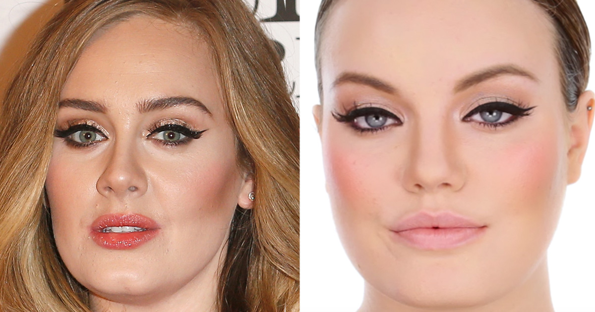 Remain Calm Adele S Makeup Artist Released An Official Tutorial On How To Do Her Eyeliner