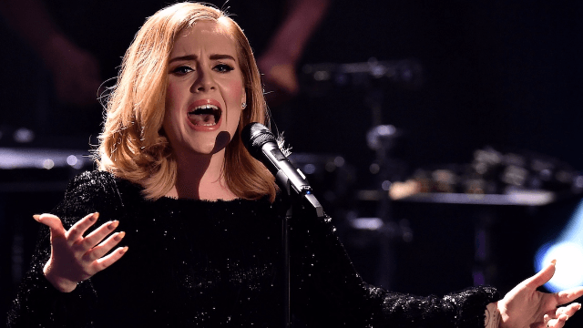 Adele pauses concert for melodramatic freakout over mosquitoes.
