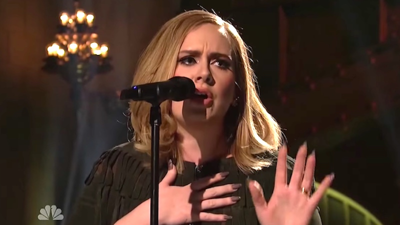 The raw mic feed from Adele's 'SNL' performance was leaked and it's eerily intimate.