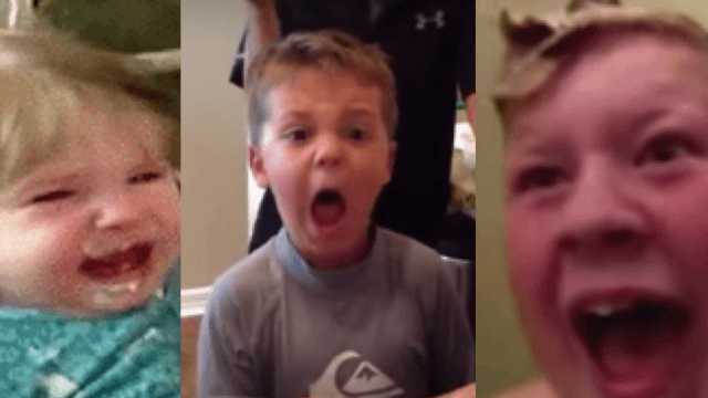 11 adults who prove it's easy and fun to scare children, and way too delightful to watch.