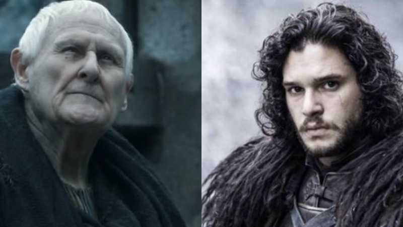 'Game of Thrones' oldest character may have tried to tell Jon Snow about his parents in season 1.