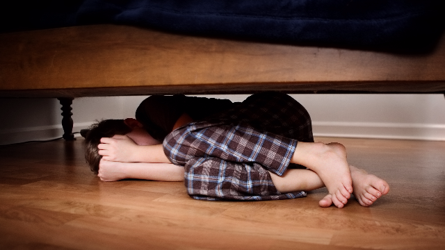 If you're hiding a lover under your bed, make sure your mother-in-law doesn't find him.
