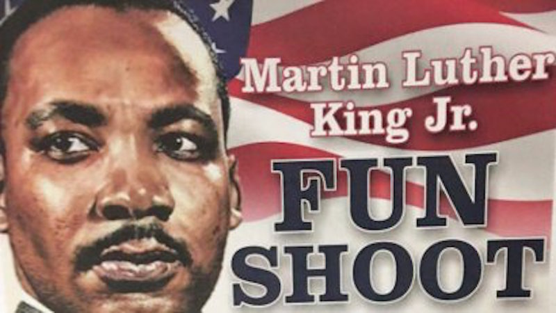 """Air Force officials apologize for MLK-themed """"fun shoot."""""""