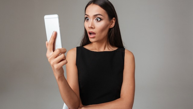 Woman asks if she's wrong for snooping through BF's phone after finding her nudes posted online.