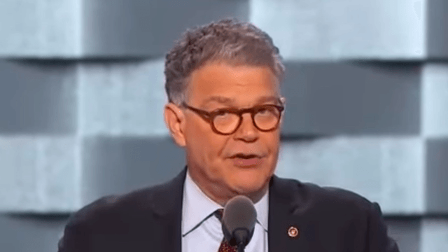 Sen. Al Franken came out of comedy retirement at the Democratic Convention to do a tight set on Donald Trump.