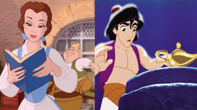 This theory about 'Beauty and the Beast' and 'Aladdin' will freak out Disney fans like only everything can.