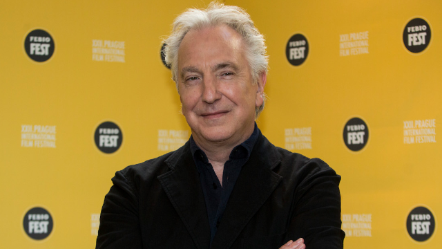 Alan Rickman never said that quote you're sharing over and over. Can this week get worse?