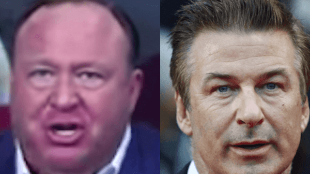 Conservative host challenges Alec Baldwin to a bare-knuckle fight.