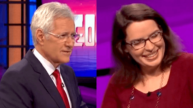 Alex Trebek savagely mocks contestant who just wanted to share her nerdy passion with him.
