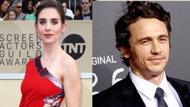 Alison Brie was asked about the sexual misconduct allegations against her brother-in-law James Franco. It was awkward.