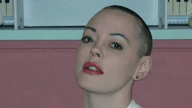 Tabloid claims an alleged Rose McGowan sex tape has leaked.