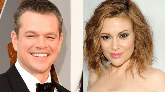 Alyssa Milano pens open letter to Matt Damon about his sexual assault comments.