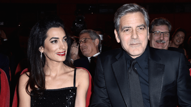 Amal and George Clooney reveal the sexes of their kids even though gender is a construct.
