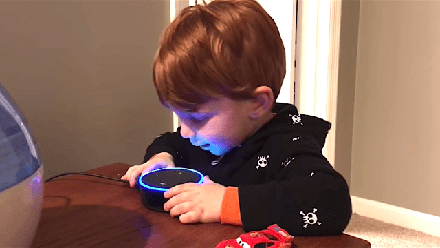 Here's the NSFW reason you should never let your toddler use your Amazon Echo.