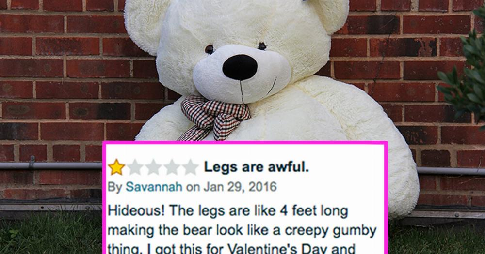 People Are Ordering These Giant Teddy Bears And Instantly