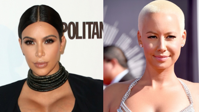 Amber Rose and Kim Kardashian posted a mysterious selfie that might mean the Butt Feud is over.