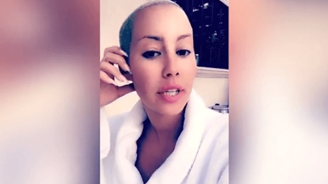 Amber Rose strikes back at trolls who thought putting a wig on her son would turn him gay.