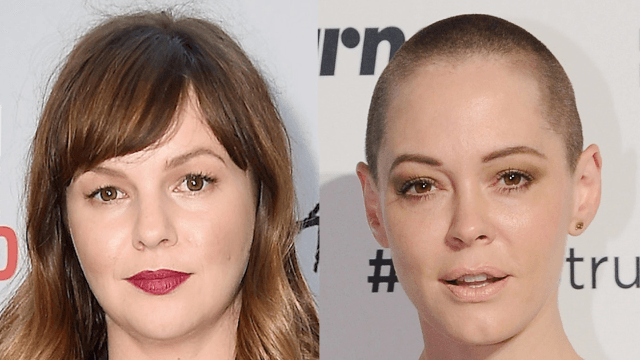Amber Tamblyn tears into friend Rose McGowan for her comments on Meryl Streep.