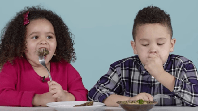 Watch American kids try to stomach Christmas dishes from around the world.