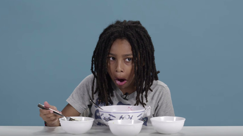 American kids tried dinners from around the world, and they were not pleased.