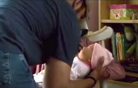 """""""American Sniper"""" screenwriter explains why Clint Eastwood used such an obviously fake baby."""