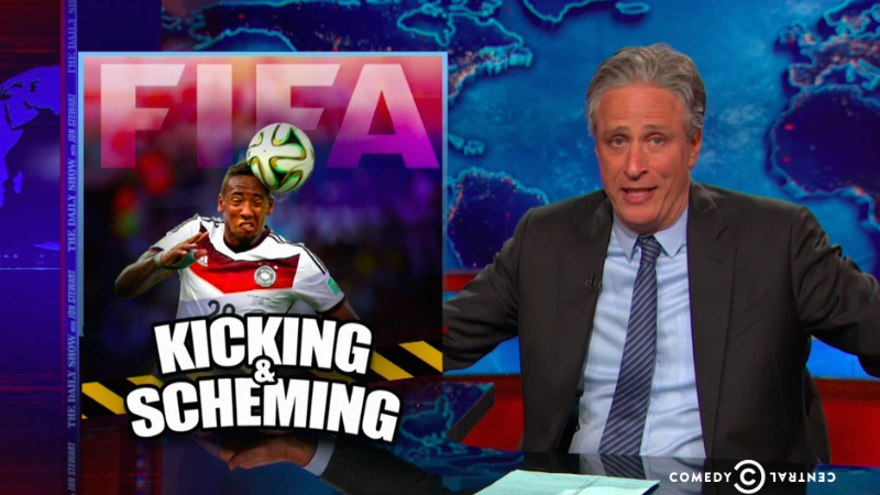 American? Struggling to understand the FIFA outrage? Let Jon Stewart make you angry.