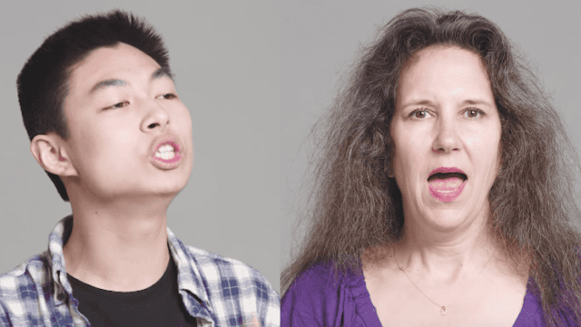 Americans tried to speak in British accents and everything went to 'ell.